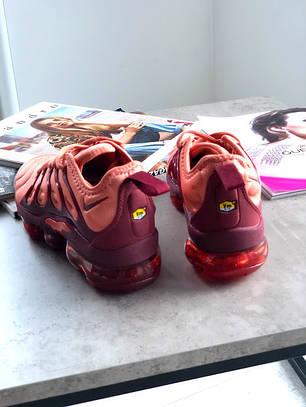 "Кроссовки Nike Air VaporMax Plus ""Розовые\Бордовые"", фото 2"