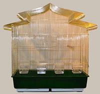 Большая универсальная золотая клетка для птиц.83х43х84см