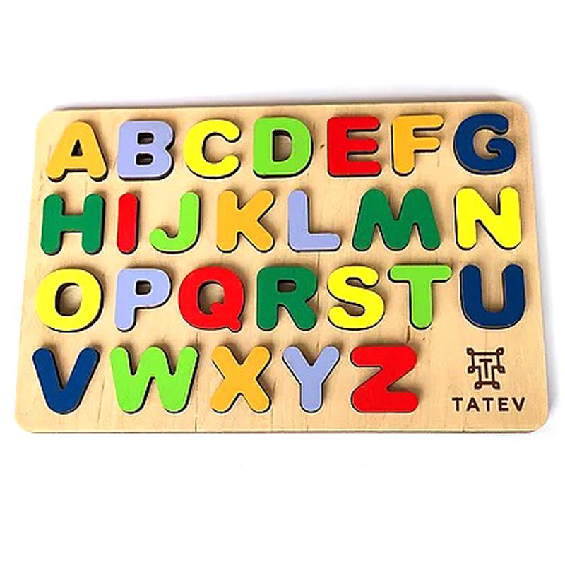 Англіийська абетка  172*262мм арт. 0002, TATEV