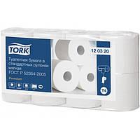 Туалетная бумага Tork мягкая 8 рулонов TORK 120320