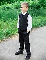Школьный костюм для мальчика двойка«Бейт-1»  жилет + брюки, фото 1