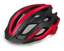 Шолом велосипедний R2 Tour L black-red