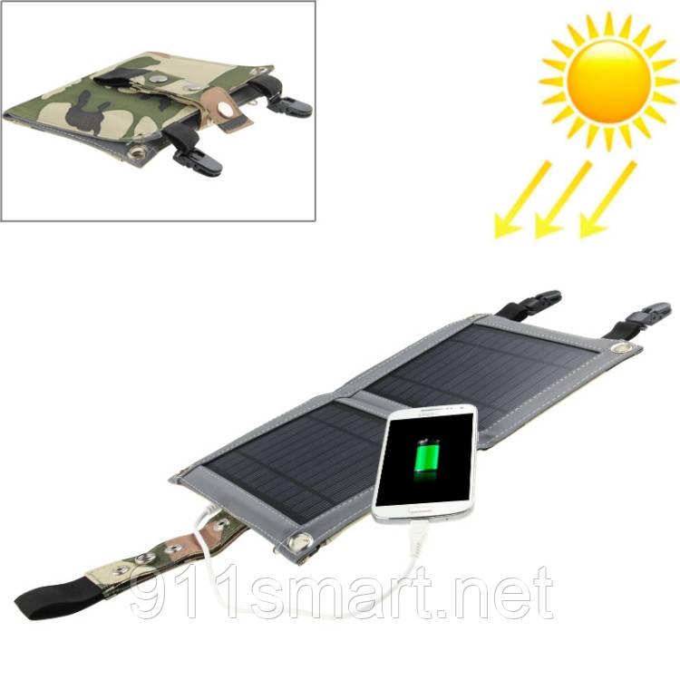 Портативная солнечная батарея 5 ватт, солнечное зарядное устройство