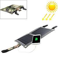 Портативная солнечная батарея 5 ватт, солнечное зарядное устройство, фото 1