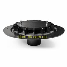 Вакуумна покрівельна воронка, діаметр 75мм з підігрівом