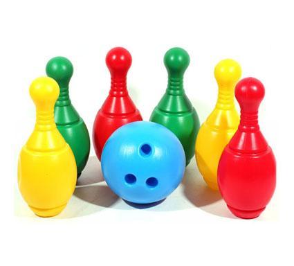 Боулінг іграшковий пластиковий
