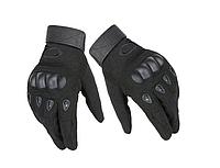Велоперчатки перчатки полнопалые Oakley М размер черные