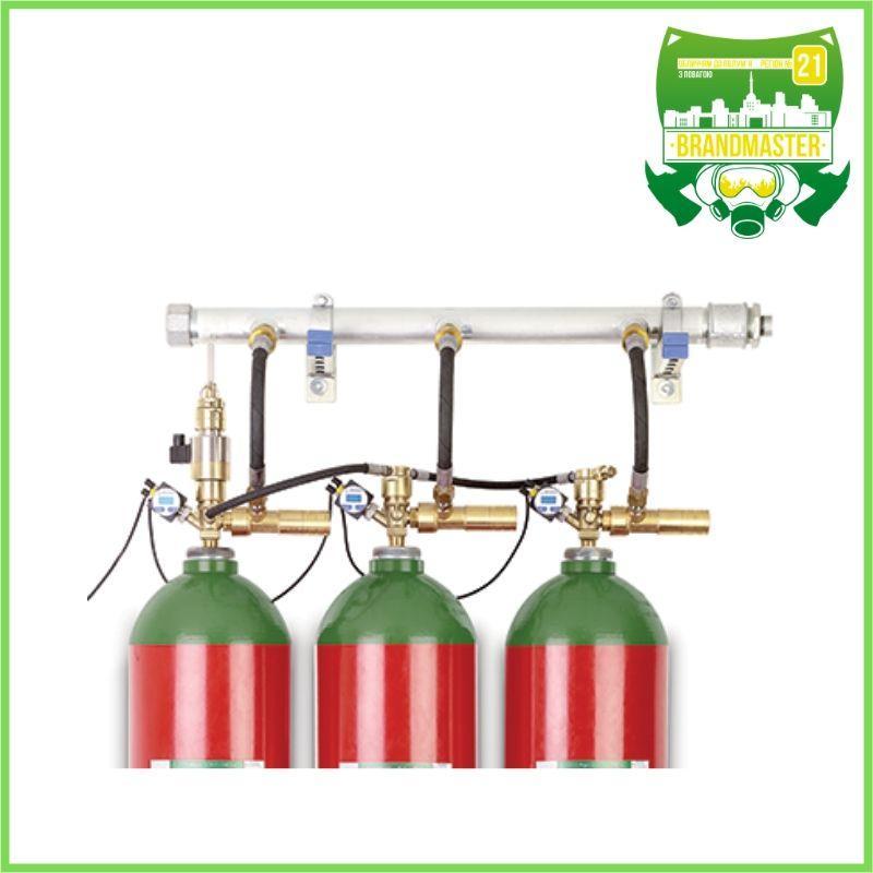 Повна система пожежогасіння інертним газом Brandmaster