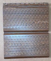 Софіт для підшики даху з металу товщина 0,45 мм золотий дуб, темний дуб глянець метал Словаччина