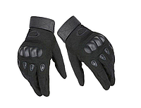 Велосипедные перчатки полнопалые Oakley L размер черные