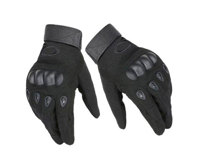 Перчатки для мотоцикла полнопалые Oakley XL размер черные