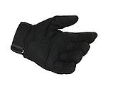 Перчатки для мотоцикла полнопалые Oakley XL размер черные, фото 2