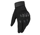 Перчатки для мотоцикла полнопалые Oakley XL размер черные, фото 3