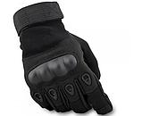 Перчатки для мотоцикла полнопалые Oakley XL размер черные, фото 6