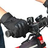 Перчатки для мотоцикла полнопалые Oakley XL размер черные, фото 8