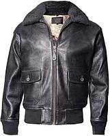 Кожаная куртка Offical Top Gun Military G-1 Jacket (черная)