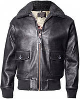 Кожаная летная куртка Offical Top Gun Military G-1 Jacket G-1 (Black), фото 1