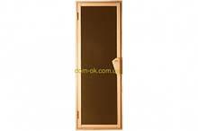Дверь для бани и сауны Tesli UNO 1900 х 700 мм