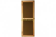 Дверь для бани и сауны Tesli Bravo Sateen 1900 х 700 мм