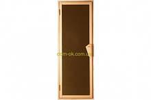 Дверь для бани и сауны Tesli UNO Sateen 1900 х 700 сс