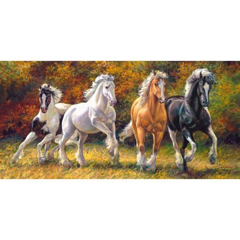 "Пазли 4000 елементів ""Коні"", арт. 400119, Castorland"