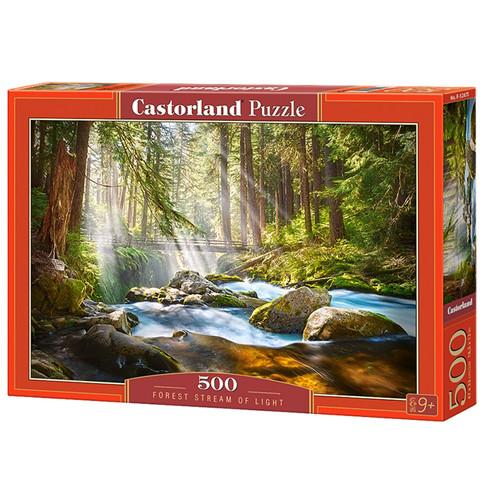 """Пазли 500 елементів """"Лісове джерело"""", Castorland"""