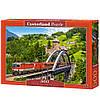 Пазли 500 елементів Потяг на мосту, Castorland