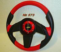 Руль Momo №573 (красного цвета)., фото 1
