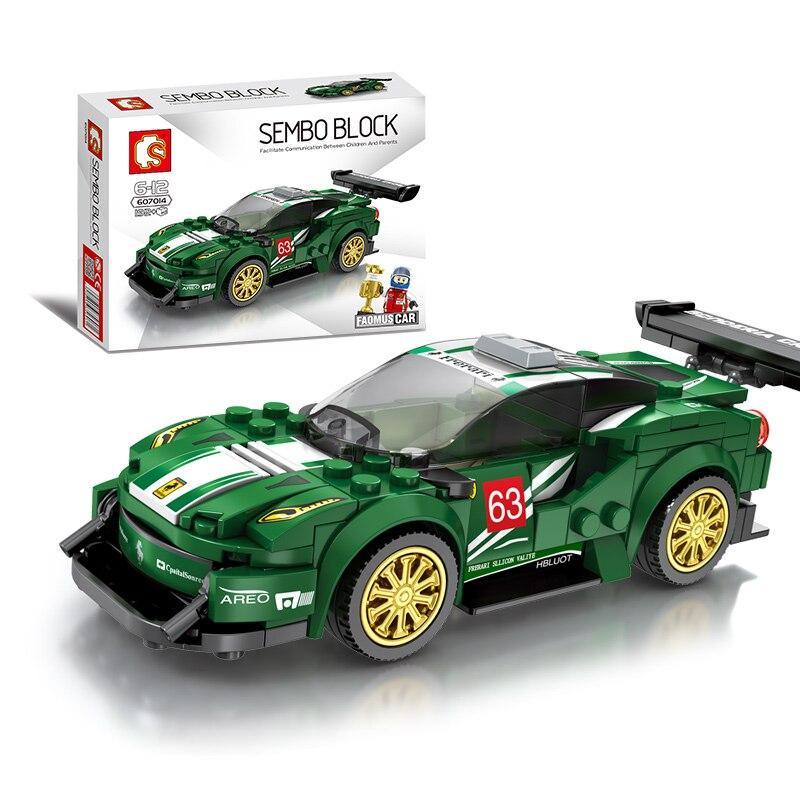 "Конструктор Конструктор Sembo 607014 ""Ferrari"" (аналог Lego Technic), 192 дет"