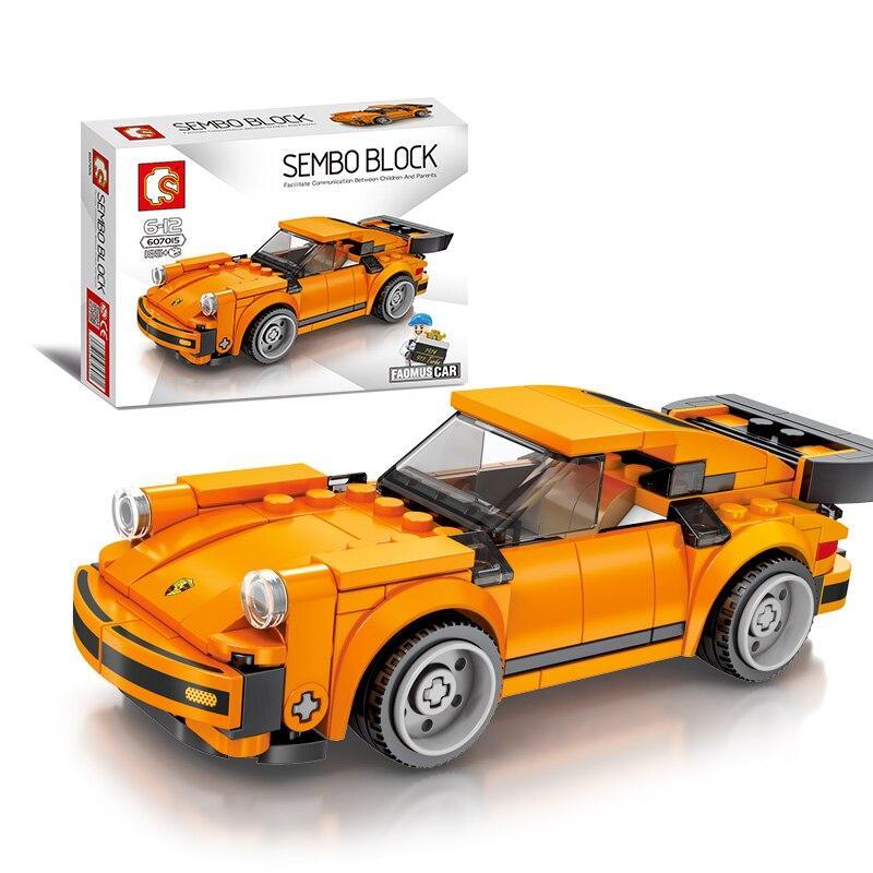 """Конструктор Конструктор Sembo 607015 """"Porsche"""" (аналог Lego Technic), 185 дет"""