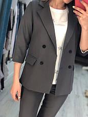 Женский костюм пиджак и капри , фото 2