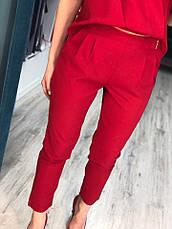 Женский комбинезон из креп-шифона с карманами , фото 3