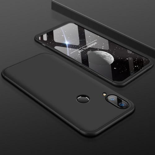 Пластиковая накладка GKK LikGus 360 градусов для Huawei Y9 (2019) / Enjoy 9 Plus Черный