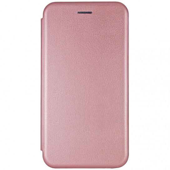 Кожаный чехол (книжка) Classy для Samsung Galaxy A20 / A30 Rose Gold