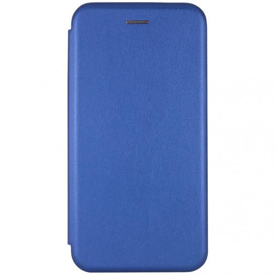 Кожаный чехол (книжка) Classy для Samsung Galaxy A20 / A30 Синий