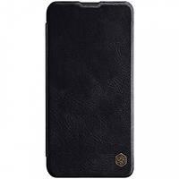 Кожаный чехол (книжка) Nillkin Qin Series для Samsung Galaxy M10 Черный