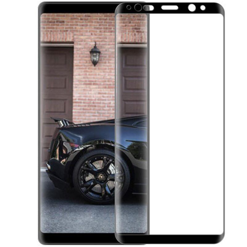 Защитное цветное 3D стекло Mocolo (full glue) для Samsung Galaxy Note 8 Черное