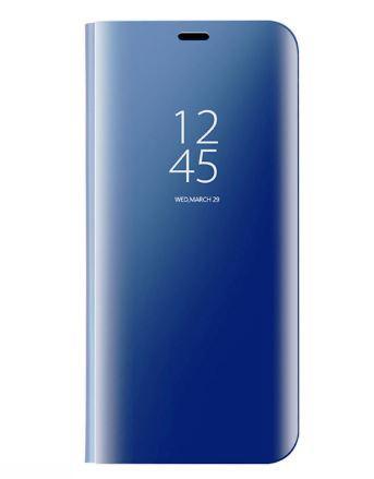 Чехол-книжка Clear View Standing Cover для Samsung Galaxy S10 Синий