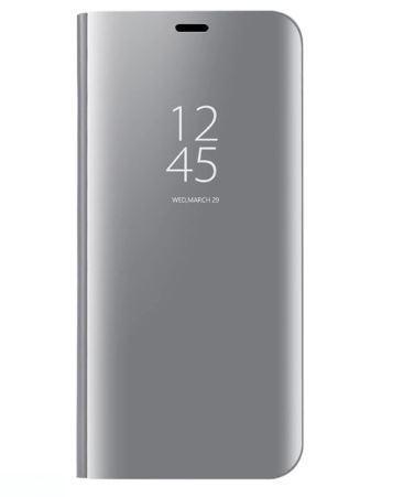 Чехол-книжка Clear View Standing Cover для Samsung Galaxy S10e Серебряный
