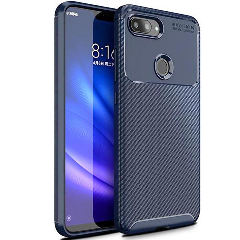 TPU чехол iPaky Kaisy Series для Xiaomi Mi 8 Lite / Mi 8 Youth (Mi 8X) Синий