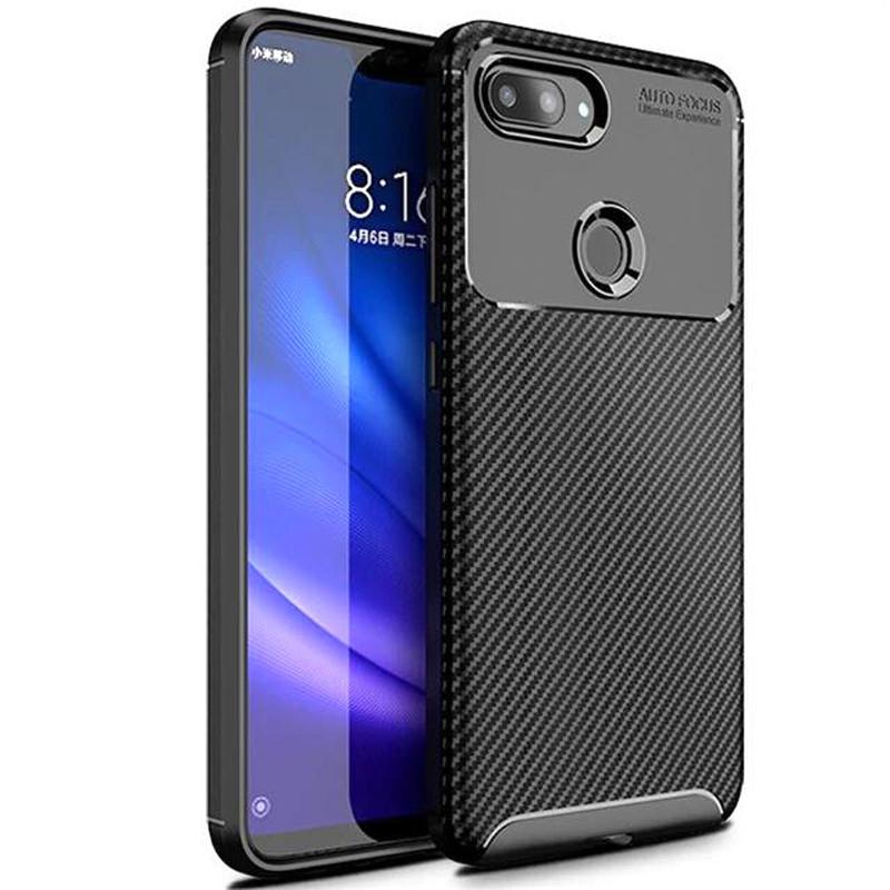 TPU чехол iPaky Kaisy Series для Xiaomi Mi 8 Lite / Mi 8 Youth (Mi 8X) Черный
