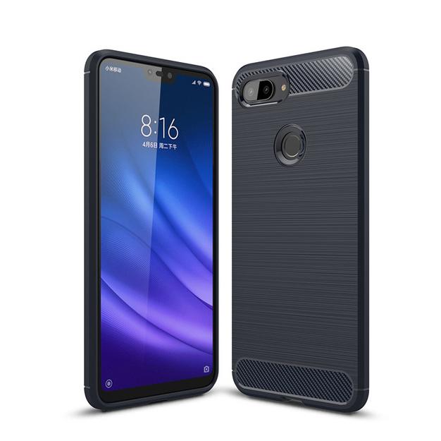 TPU чехол iPaky Slim Series для Xiaomi Mi 8 Lite / Mi 8 Youth (Mi 8X) Синий
