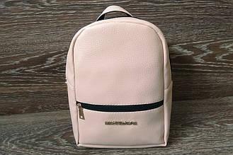 Женский рюкзак MICHAEL KORS, стильный портфель МАЙКЛ КОРС, цвет розовая пудра