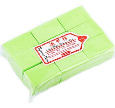 Безворсовые салфетки 1000шт Салатовые