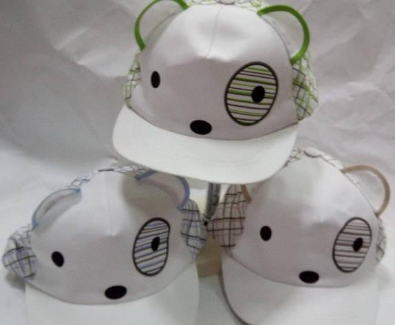 Легкая детская летняя кепка-бейсболка для мальчика и девочки 46-52, фото 2