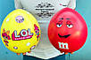 Подарункова коробка Великий LOL, ЛОЛ 25 см. / Большой шар сюрприз ЛОЛ. подарок девочке, фото 7