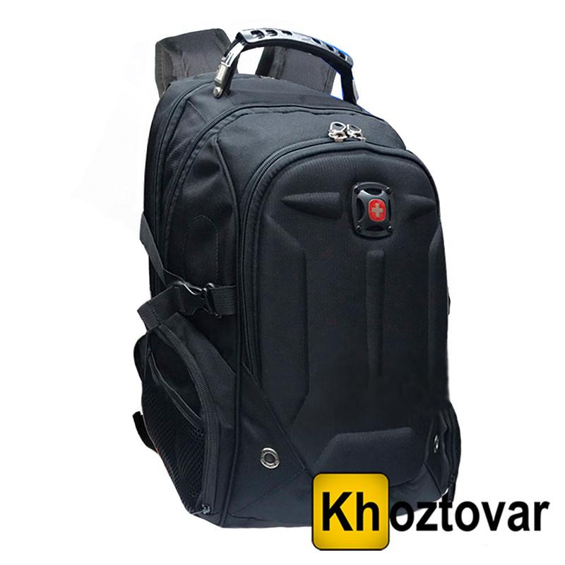 Рюкзак ортопедический черный SwissGear 7655