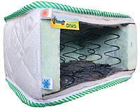 Ортопедический матрас на пружинном блоке Боннель Faino DIVO / Файно ДИВО жаккард