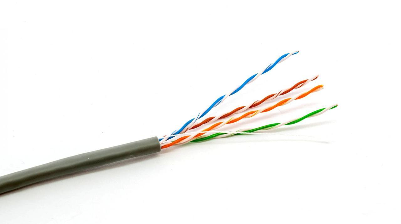 Кабель витая пара Dialan UTP Cat.5e 4PR Cu (350 МГц) PE Outdoor 305 м