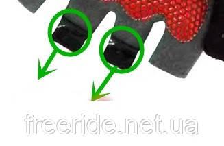 Вело перчатки беспалые Pearl Izumi (SPORT) зелено-оранжевые, фото 3